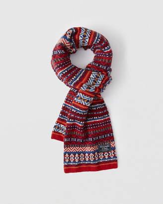 Abercrombie & Fitch Cozy Knit Scarf