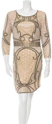 Parker Silk Embellished Dress $125 thestylecure.com