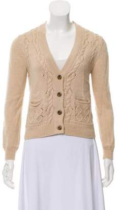 3.1 Phillip Lim Cable-Knit Wool Cardigan