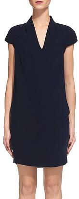 Whistles Paige V-Neck Shift Dress $230 thestylecure.com