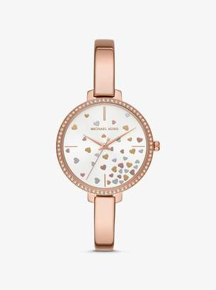 Michael Kors Jaryn Rose Gold-Tone Watch
