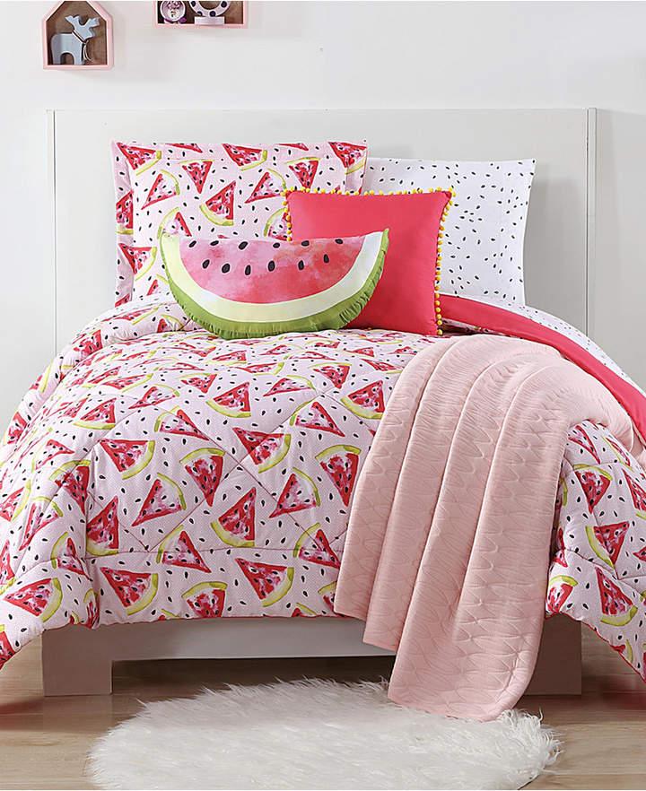 Laura Hart Kids Fruity Reversible 3-Pc. Printed Full/Queen Comforter Set Bedding