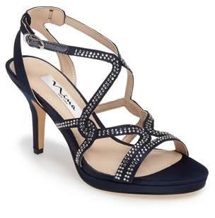 Nina Varsha Crystal Embellished Evening Sandal