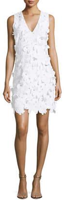 MICHAEL Michael Kors Floral-Applique Lace Dress