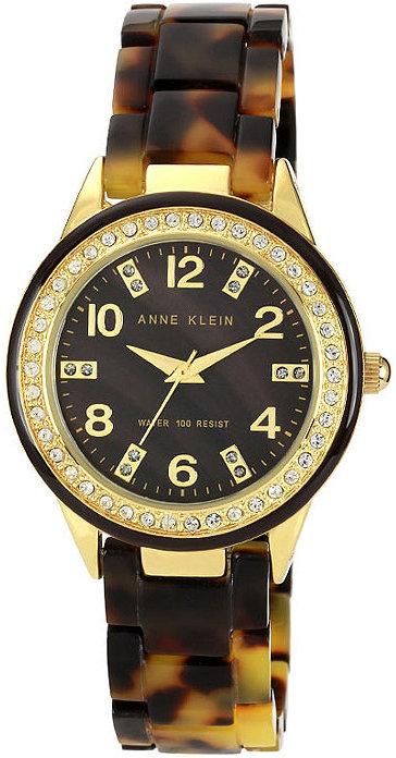 Anne Klein Tortoise Watch
