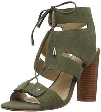 Amazon Brand - The Fix Women's Page Block Heel Ghillie Dress Sandal