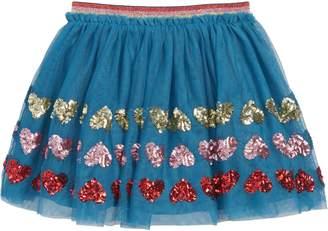 Boden Applique Tulle Skirt