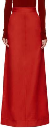 Kwaidan Editions Red Lockwood Skirt