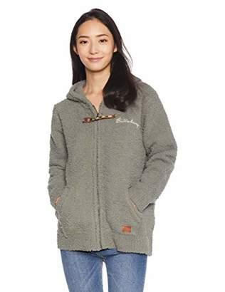 Billabong (ビラボン) - [ビラボン] [レディース] フルジップパーカー (ボアフリース)[ AI014-617 / BOA Sweater ] サーフ かわいい Gry_グレー US M (日本サイズM相当)