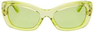 Prada Green Postcard Sunglasses