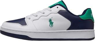 Ralph Lauren Junior Jessup Trainers White