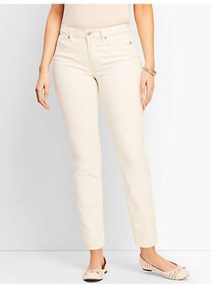 Talbots Denim Slim Ankle Jean - Curvy Fit/Vanilla