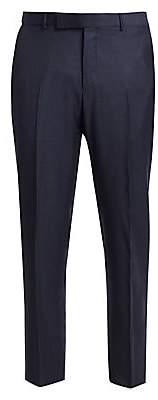Ermenegildo Zegna Men's Wool-Silk Trousers