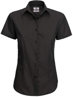 BC B&C Ladies Smart Short Sleeve Poplin Shirt / Ladies Shirts (XL)