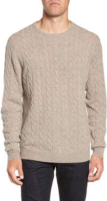 Nordstrom Cashmere Cable Knit Sweater