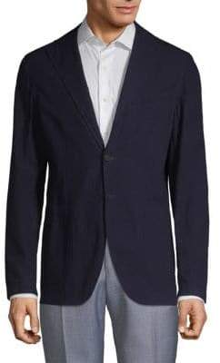 Textured Cotton Sportcoat