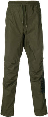 MHI drawstring fitted trousers