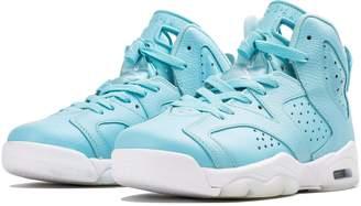 Jordan AIR 6 RETRO GG girls fashion-sneakers 543390-407_9Y - /WHITE-WHITE