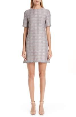 Emporio Armani Check Woven Dress