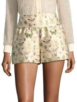 RED Valentino Insect Shorts