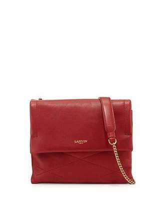 Lanvin Sugar Mini Lambskin Shoulder Bag, Red $1,490 thestylecure.com