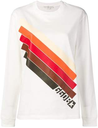 Golden Goose stripe print sweatshirt