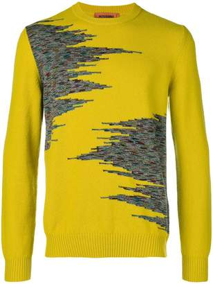 Missoni contrast knitted sweater