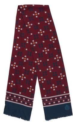 Dolce & Gabbana Geometric Print Silk Scarf