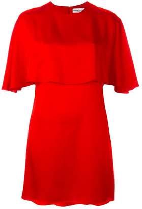 Sonia Rykiel cape detail dress
