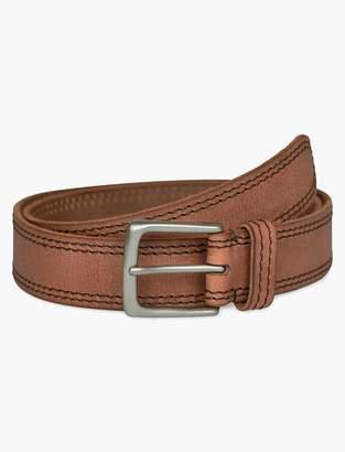 Lucky Brand Contrast Stitch Leather Belt
