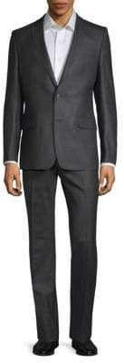 Versace Wool Two-Piece Suit