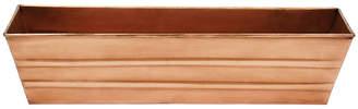 ACHLA Copper Window Box Planter