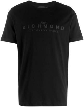 John Richmond contrast logo T-shirt