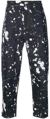 3.1 Phillip Lim paint splatter jeans