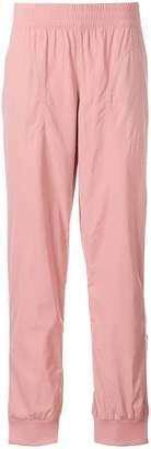 adidas by Stella McCartney stripe detail track pants