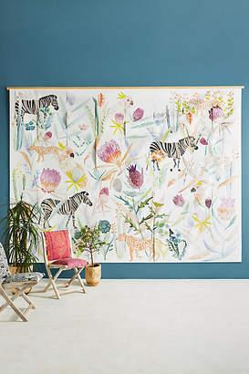 Michelle Morin Zebras, Cheetahs & Cockatoos Mural