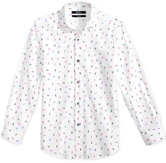 DKNY Empire Printed Shirt, Big Boys