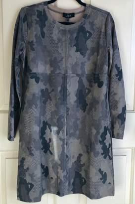 Joh Faux-Suede Camo Dress