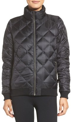 Women's Patagonia Prow Down Bomber Jacket $199 thestylecure.com