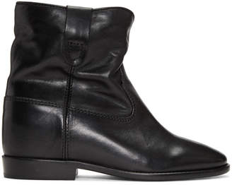 Isabel Marant Black Cluster Boots