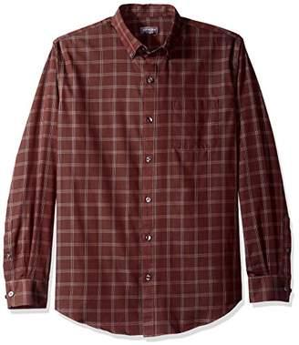 Van Heusen Men's Wrinkle Free Long Sleeve Button Down Twill Shirt