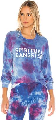 Spiritual Gangster SGV Crew Neck Savanna Pullover