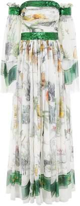 Dolce & Gabbana Printed Maxi Dress