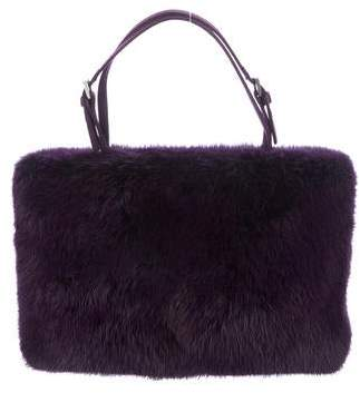1a11954e87a9 Prada Fur Handbag - ShopStyle