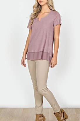 Monoreno Silk Bottom t-Shirt
