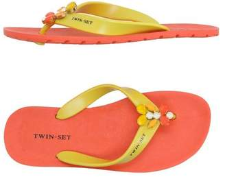 Twin-Set Toe post sandal