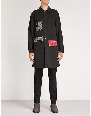 Hollywood Trading Company Bandana-print cotton jacket