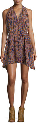 Derek Lam 10 Crosby Sleeveless Printed Tie-Waist Dress $550 thestylecure.com