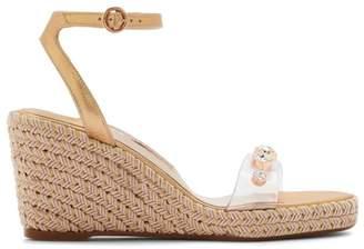 d366d4ef2 Sophia Webster Dina Gem Mid Espadrille Platform Wedge Sandals