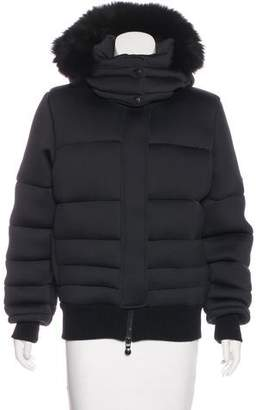 Pyrenex Neoprene Down Jacket
